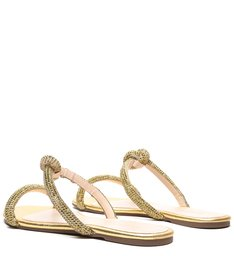 Flat Knot Glam Pedraria Gold