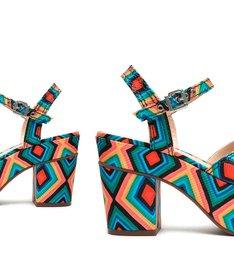 Sandália Meia Pata Freshfull Multicolorida