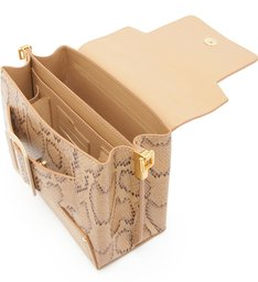 Satchel Buckle Bag Python