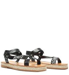 Sporty Sandal Flatform Black