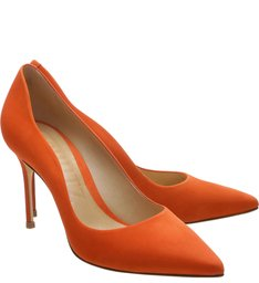 Scarpin Curves Bright Orange
