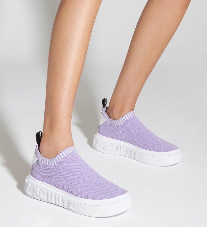 Sneaker It Schutz Knit Lavender