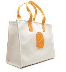 Shopping Bag The Weekender Cru/Orange