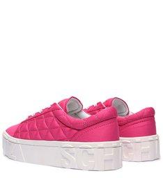 Tênis Mauli Nylon Pink Neon