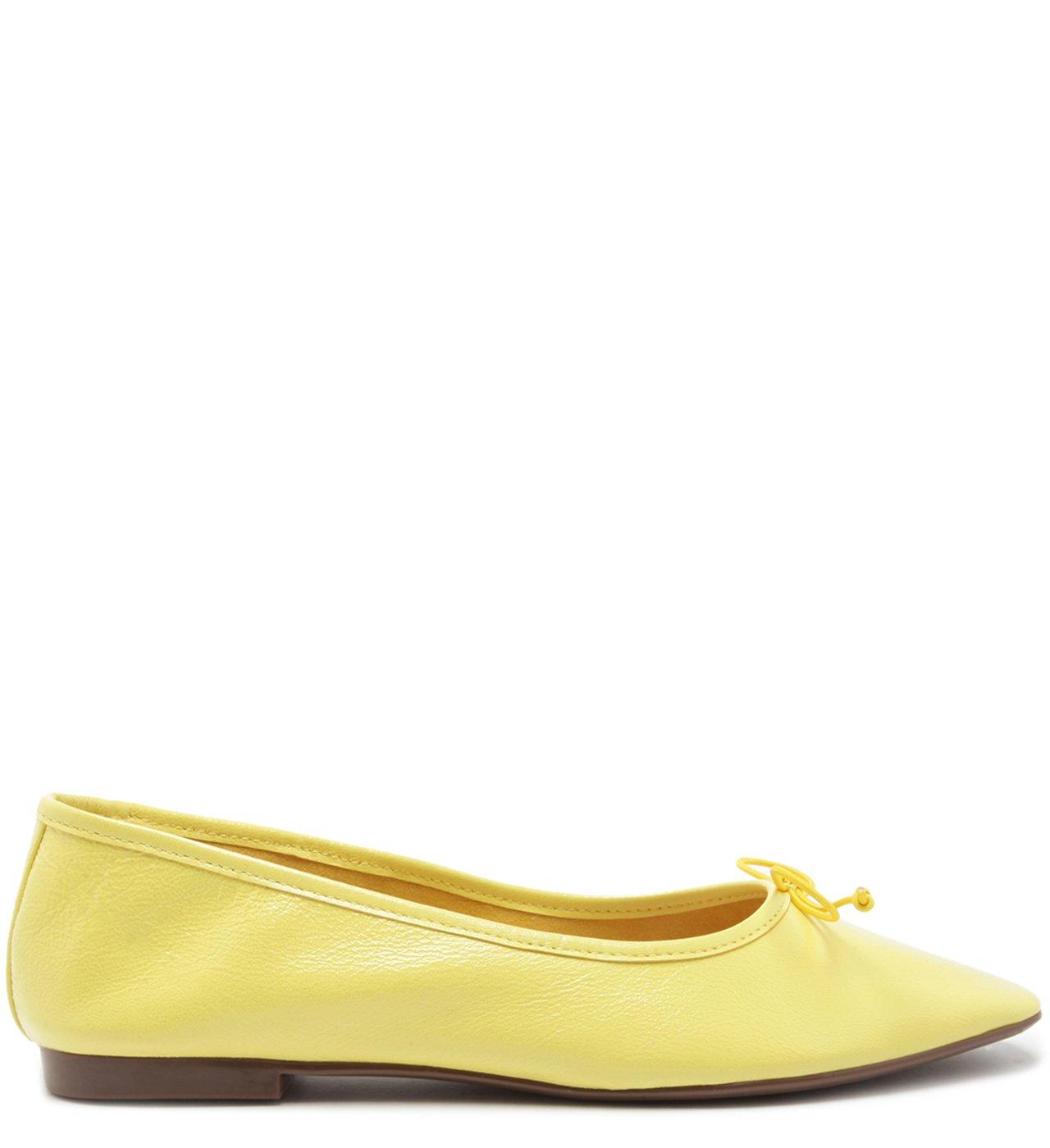 Sapatilha Classic Verniz Yellow | Schutz