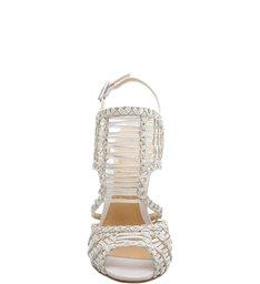 Sandália Texture Stiletto Pearl