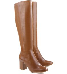 Bota Strech Leg Block Heel Land