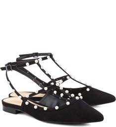 Flat Pearls Black