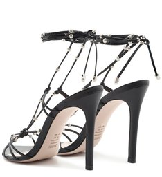 Sandália Lace-Up Glam Preta