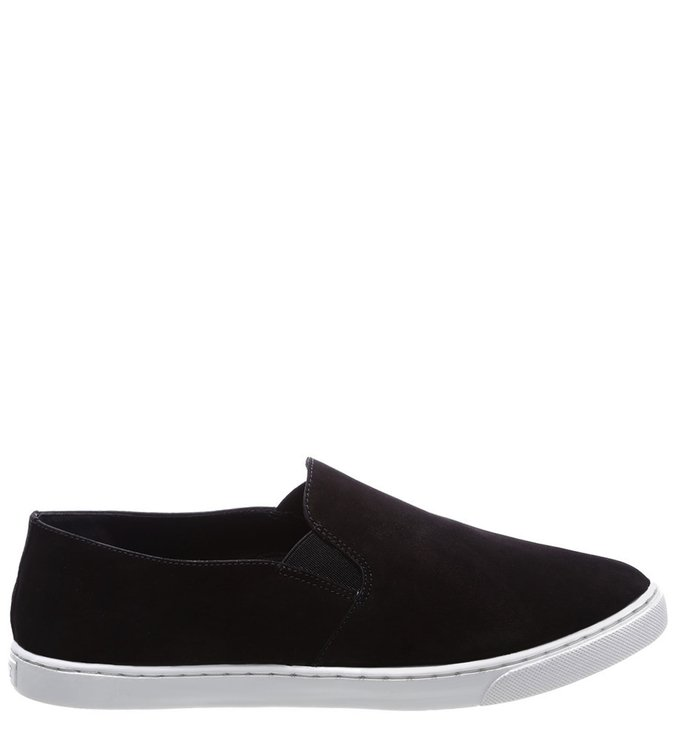 Slip On White Sole Black