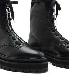 Coturno High Club Bikers Black