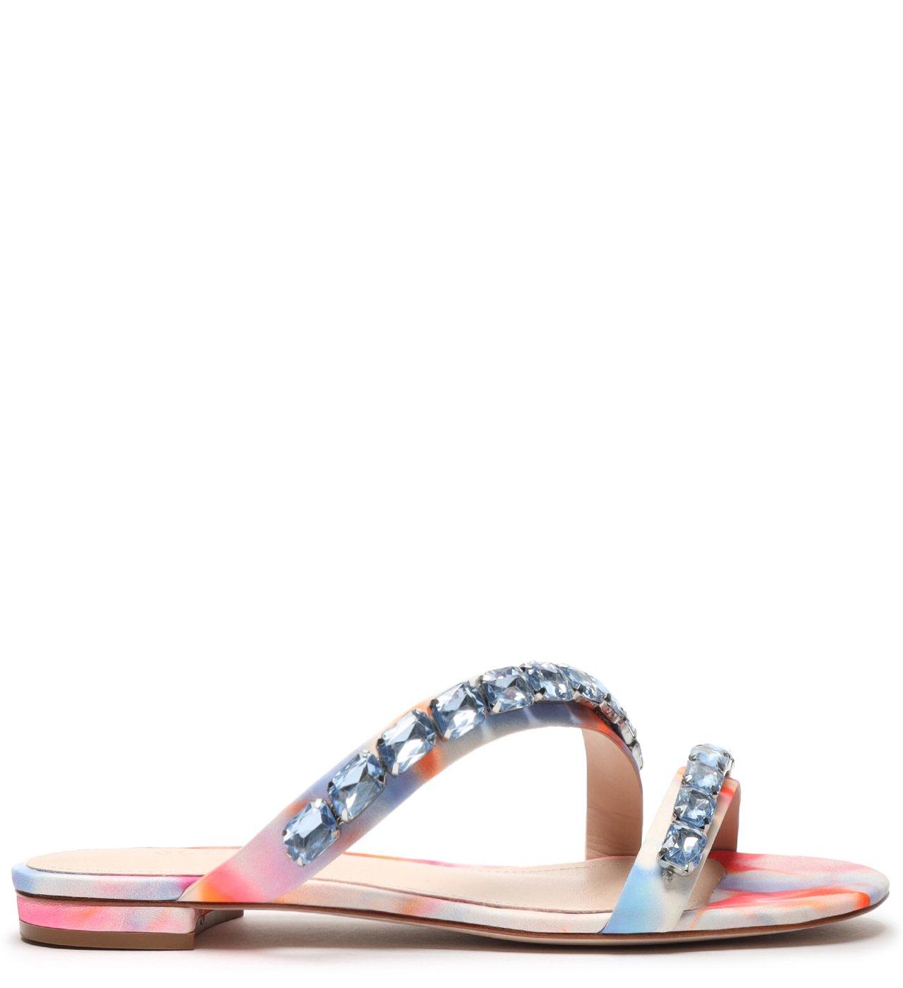 Rasteira Crystal Glam Tie-Dye | Schutz