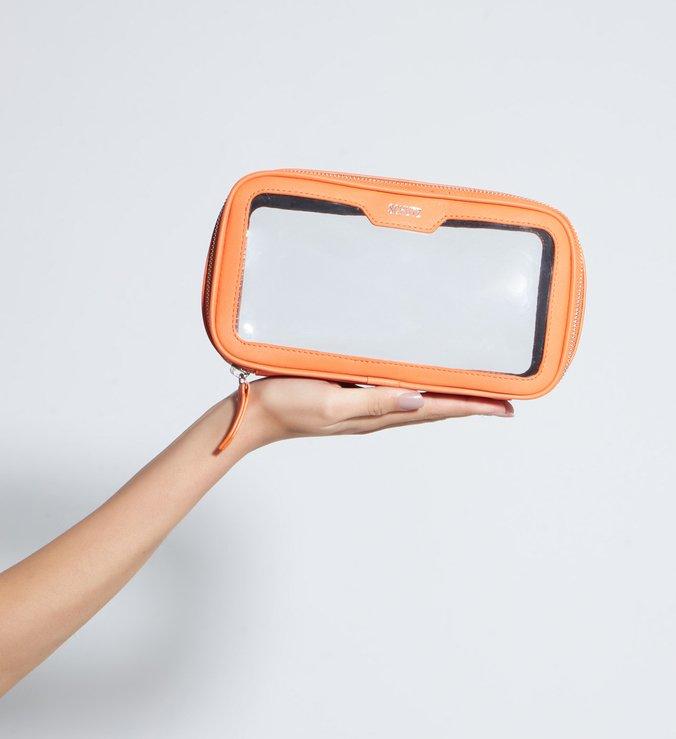 Nécessaire Milly Vinil Orange