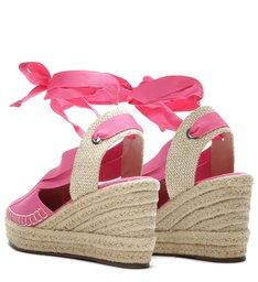 Sandália Anabela Fresh Pink