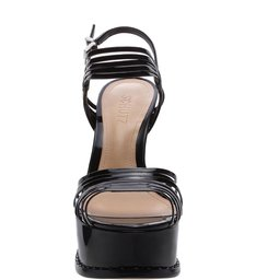 Sandália Meia Pata Multi Strap Black