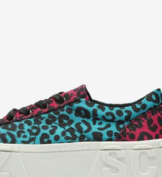 Tênis Flatform Mauli Animal Print Colors