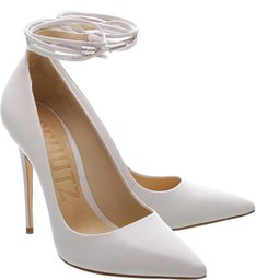 Scarpin Lace Up Pearl