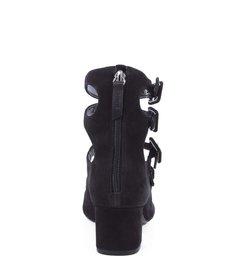 Scarpin Multistraps Black