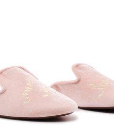 Homewear Flat Mule Sofi Velvet Rose
