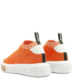 [PRÉ-VENDA] Sneaker It Schutz Bold Knit Orange