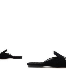 Homewear Flat Mule Sofi Velvet Black
