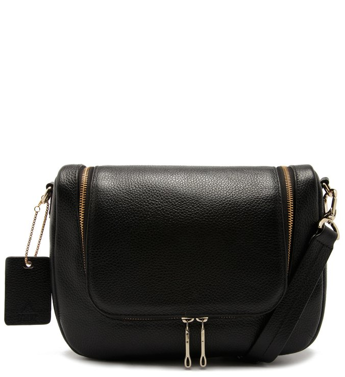 Crossbody Urban Zíper Black | Schutz