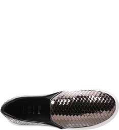 Slip On S-High Snake Metallic