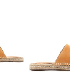 FLAT OPEN ESPADRILLE TOASTY YELLOW