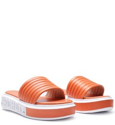 SLIDE BOLD LEATHER ORANGE