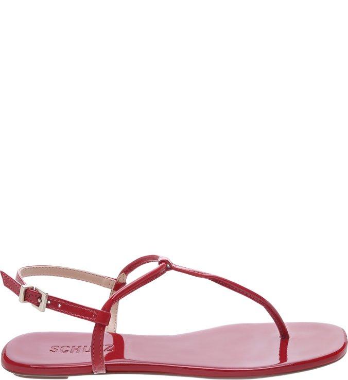 Sandália Rasteira Classica Red