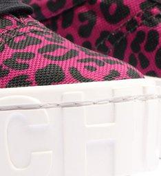 Tênis Flatform Mauli Animal Print Rosa