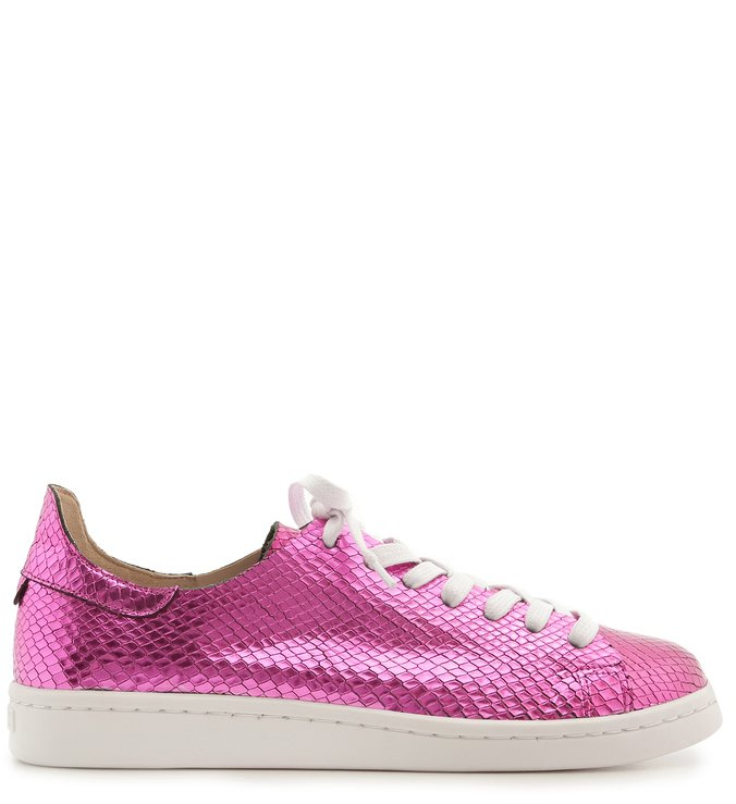 Tênis Ultralight S-Light Snake Metallic Fucsia | Schutz