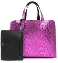 Shopping Metallic Snake Pink