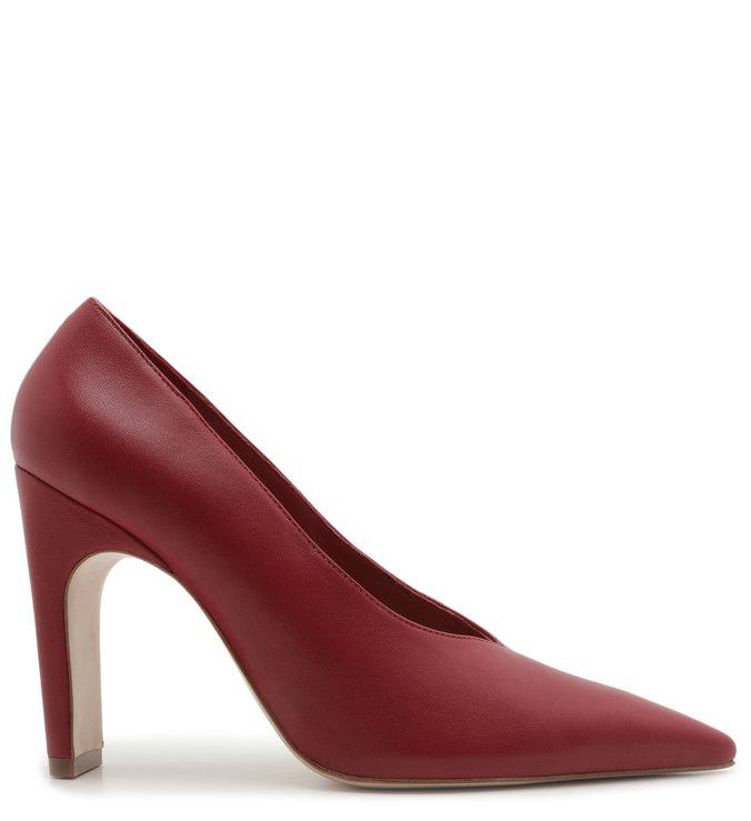 Sapato Scarpin Couro Vermelho | Schutz