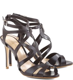 Sandália Interlaced Straps Hot Coffee