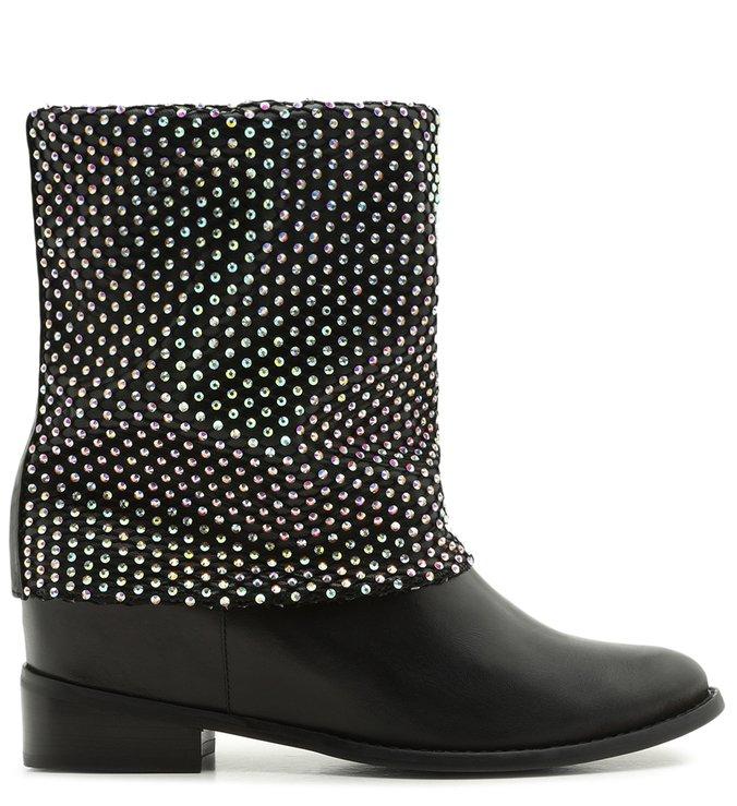 Flat Boot Malha Black | Schutz