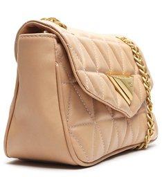 Bolsa Pequena Tiracolo Matelassê 944 Bege
