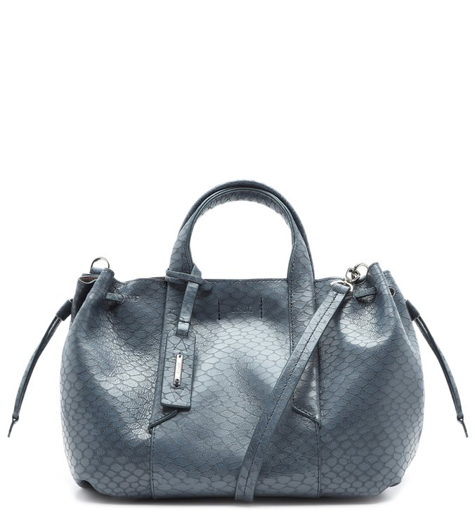 Shopping Bag Archie Snake Teal   Schutz