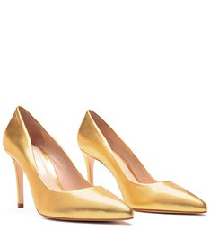 Scarpin Classic Gold