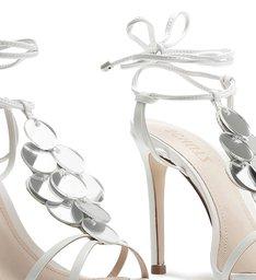 Sandália Strings Mirror White