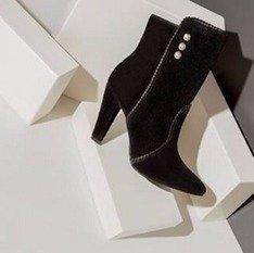 Bota Stylish Black