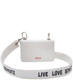 Mini Crossbody Live Love White