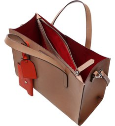 Handbag Laura Charms Neutral