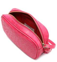 Bolsa Tiracolo Pequena Kate Onça Rosa