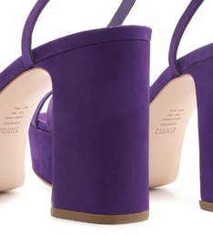 Sandália Meia Pata Nobuck Purple