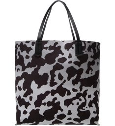 Tote Reversible Black Cow Print