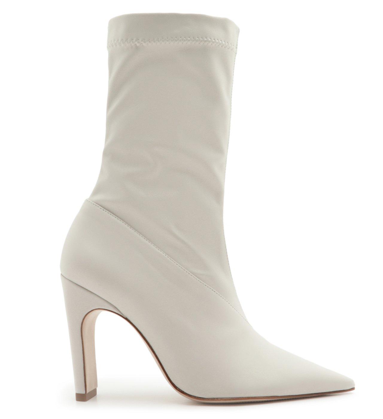 Sock Boot Ava Salto White | Schutz