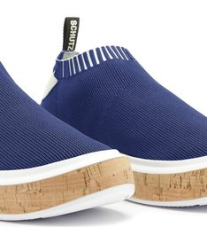 [PRÉ-VENDA] Sneaker It Schutz Bold Knit Blue