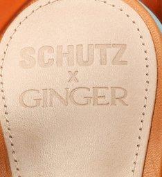 Schutz x Ginger Sandália Multistraps Soft Tones