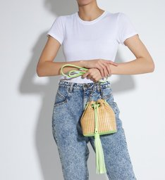 Bucket Bag Drop Neon Green